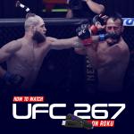 Watch UFC 267 on Roku