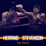 Watch Jamel Herring vs Shakur Stevenson on Kodi